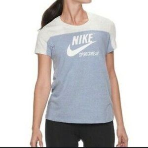Nike Gym Vintage S/S Colorblock Crew Neck T-Shirt